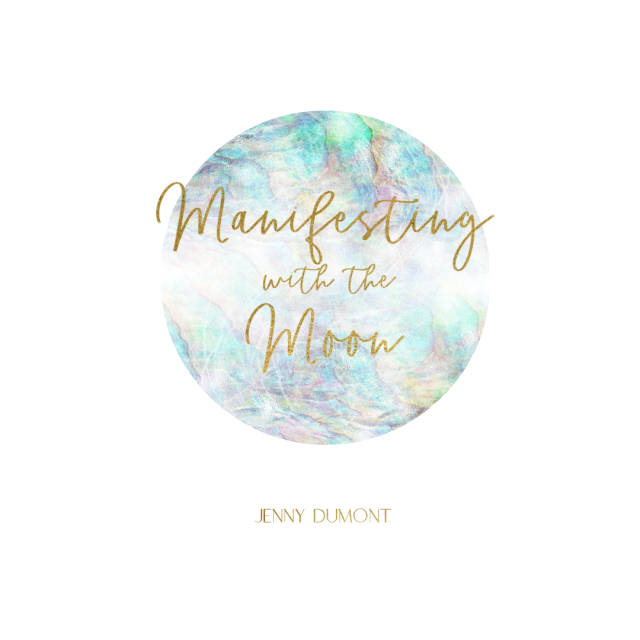 Manifesting with the Moon a monthly journal that helps you harness the energy of the moon throughout the entire lunar cycle so you can manifest your dream life.