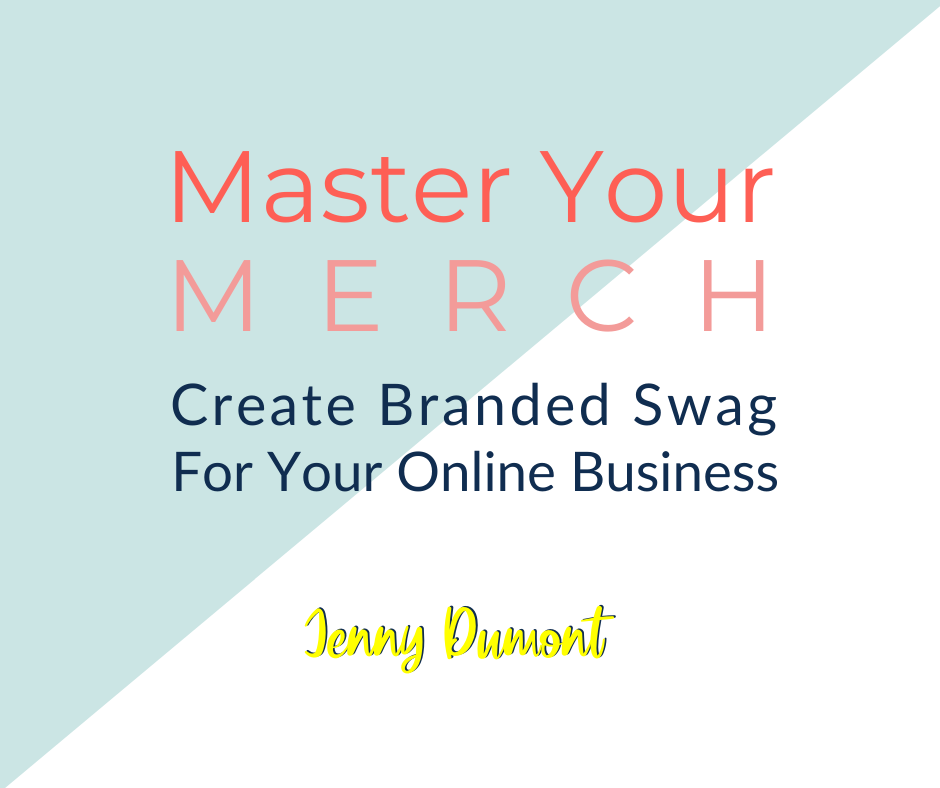 Master Your Merch.  Create branded sway for your online business.